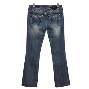 Miss Me 'Exclusive for buckle' Bootcut Jeans